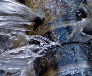 Ūdens avārija Blomē