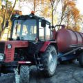 Asenizācijas mucas (traktors) pakalpojums