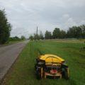 Radiovadāmā pļaujmašīna