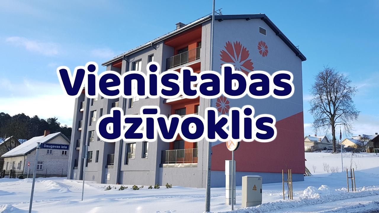 Daugavas iela 7a – Vienistabas dzīvoklis